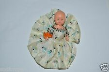 Wow Vintage Hard Plastic Dressed Estate Baby Doll Rare