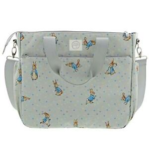 Beatrix Potter Peter Rabbit Baby Changing Bag, Multi Pockets for Storage, Multi