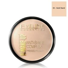 Eveline Cosmetics Anti Shine Complex Pressed Powder 33 Gold Sand Shade