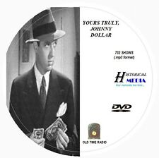 YOURS TRULY, JOHNNY DOLLAR - 732 Shows Old Time Radio In MP3 Format OTR On 1 DVD