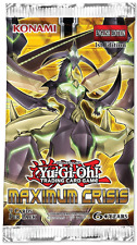 Yugioh 20x Maximum Crisis Booster packs x20 1st Edition MACR NEW MINT Condition