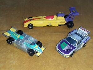 Matchbox Connectables F1 Racing Cars Porsche Track Car 1989 7 Pieces