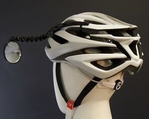 Efficient Velo Tools' Safe Zone Bicycle Helmet Mirror