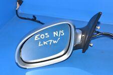 VW Eos Convertible Passengers Side Door Mirror LK7W Silver Essence 1Q2857501AK