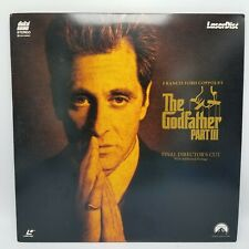 """The Godfather Part Iii (3)"" Final Director's Cut Laserdisc Ld"