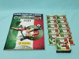 Panini Calciatori 2021 Serie A Sticker   Sammelalbum + 25 Tüten  Album
