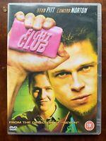Combattere Club DVD 1999 David Fincher Taglio Film Classic 2-Disc Speciale
