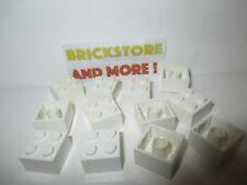 Lego - 12x Brick Brique 2x2 3003 White/Blanc/Weiss