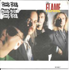 """45 TOURS / 7"""" SINGLE--CHEAP TRICK--THE FLAME / THROUGH THE NIGHT--1988"""