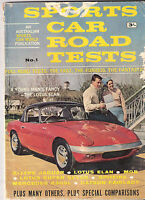Sports Car Road Tests #1 Jaguar E Type Mercedes 230SL Datsun Fairlady MGB V TR4