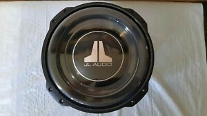 "JL Audio 10TW3-D4 10"" 400W Shallow-mount 10"" subwoofer. Dual 4-ohm voice coils."