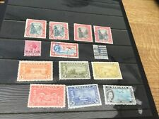 Bahamas QE G6 Range Mint And Used Inc Tercentenary Part Set 13 Stamps.