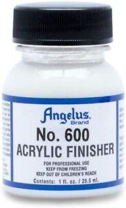 Angelus Acrylic Leather Paint ORIGINAL GLOSS 600 Finisher 1oz Bottle Factory
