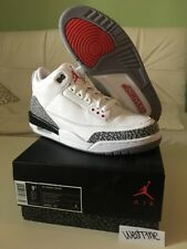 Nike Air Jordan 3 White Cement III Retro 2011 Size 9.5 136064-105 DS Brand New