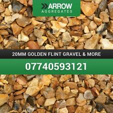 20mm Golden Flint Gravel