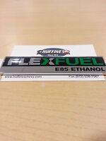 """New Emblem """"Flex Fuel E85"""" - 2005-2013 Chevrolet, GMC, Cadillac with Flex Fuel"""