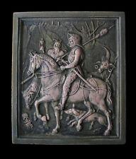Albecht Durer Memento Mori Knight Death Devil Gothic Ellison Tile