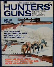 Vintage Magazine HUNTERS' GUNS 1969 !!! RIFLES, HANDGUNS, PELLET-GUN ROUNDUP !!!