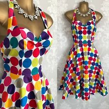 Grace Karin DRESS SIZE 10 M 50's Swing Spotted Races Evening Party Occasion.