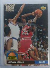 1992 92-93 Upper Deck All Division Michael Jordan #AD9, Rare Early MJ Insert!