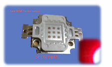 LED 10w fondo rosso 7V 900mA 600lm 660nm  per acqurio,faretto led 10w deep red