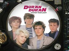 "Duran Duran - Faster Than Light Ultra Rare 12"" Picture Disc Maxi Single LP"
