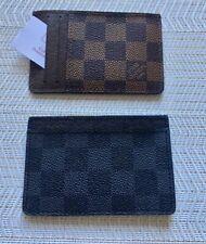 Mens Slim Wallet Card Holder Front Pocket Wallets Credit ID Pocket Thin- Grey