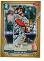 Mookie Betts 2020 Topps Gypsy Queen 5x7 Gold #1 /10 Red Sox