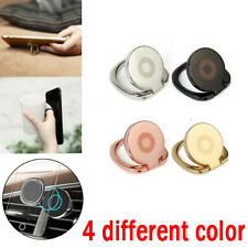 4 xFinger Ring Holder Stand Grip 360° Rotating for Cell Phone Car Magnetic Mount