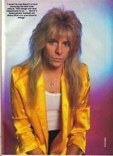 Kerrang Magazine No: 118 1986   Gregg Giuffria