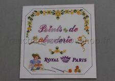 M137 Mercerie catalogue technique Points de broderie Royal Paris Steiner 20 pgs