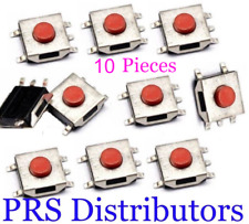 10 Tactile Tact Push Button Switch 5 Pin SMD SMT Momentary Push Button 6x6x2.5mm