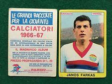 CALCIATORI 1966/67 66/1967 JANOS FARKAS UNGHERIA Figurina Sticker Panini (NEW)