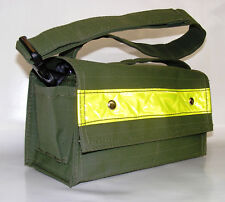 Heavy Duty Ripstop Canvas LARGE Tool Bag - Adjustable Strap - OLIVE GREEN