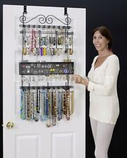 Longstem #6100 Over the Door Jewelry Organizer Valet ~ Patented ~ Rated Best ~