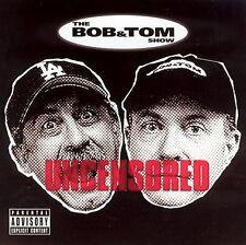 Bob and Tom Uncensored CD 8 tracks Q-95 comedy
