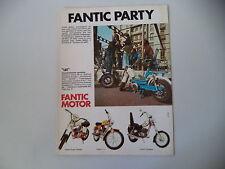 advertising Pubblicità 1974 FANTIC LEI 49/SUPER ROCKET/TI 50/CHOPPER
