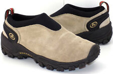 Merrell Satellite Moc Classic Taupe Suede Slip On Shoes Women's US Shoe Size 7M