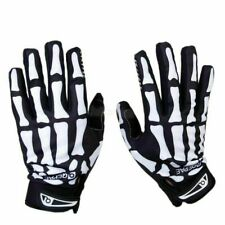 Full Finger Biker Skeleton Bone Gloves Racing Cycling Motorcycle Mechanics Goth