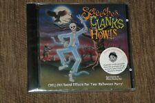 SCREECHES CLANKS & HOWELS HALLOWEEN SOUND EFFECTS CD