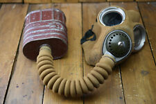 More details for ww2 gas mask in original bag, maple 1939