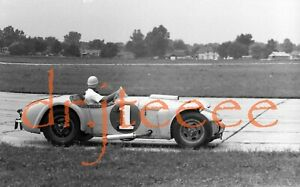 1955 NHRA Drag Races STOUT FIELD INDIANA - 35mm Racing Negative