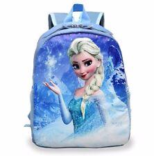 Frozen Elsa School Bag Kindergarten Bag Backpack for Girls Cartoon Princess Kids
