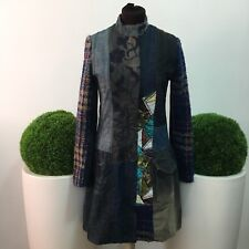 desigual cappotto donna jacket coat jacke chaqueta tg.38