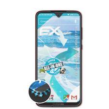 atFoliX 3x Folie für Lenovo Motorola Moto G7 Plus Schutzfolie FX-ActiFleX