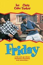 Friday 11x17 Poster Print Ice Cube Chris Tucker