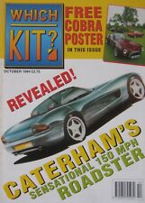 Which Kit? magazine 10/1994 featuring Eagle Fiero, Tiger Six