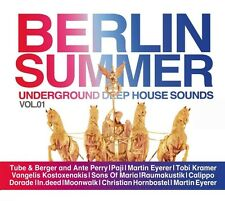 BERLIN SUMMER VOL.1-BEST OF DEEP SOUND Paji, Tobi Kramer, Tube&Berger 3 CD NEU
