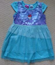 NWT Disney Princess Licensed Girls Little Mermaid Glitter Summer Nightie Size 2