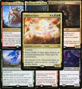 5 Color god Commander Deck Ultimate - Child of Alara Magic MTG Ready-to-Play EDH